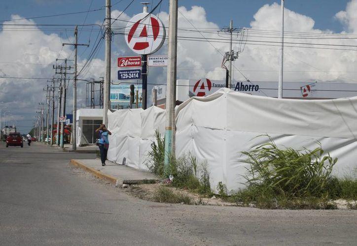Estará ubicada en los cruzamientos de las avenidas Constituyentes y Maxuxac. (Harold Alcocer/SIPSE)