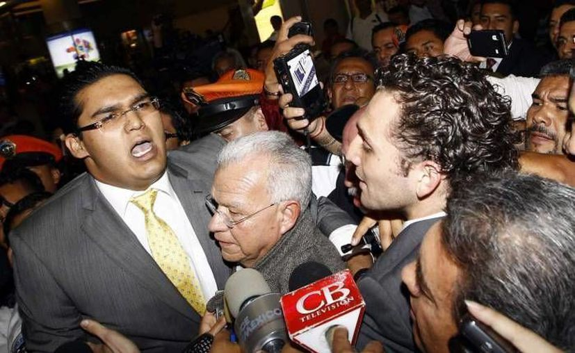 En la gráfica, el exgobernador de Tabasco Andrés Granier, que se encuentra en medio de un lío legal por desvío de recursos públicos. (Archivo/Notimex)