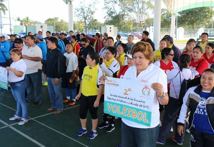 """Inició la """"Segunda Jornada Nacional de los Encuentros Deportivos, Artísticos y Culturales"""" en Cozumel. (Cortesía)"""