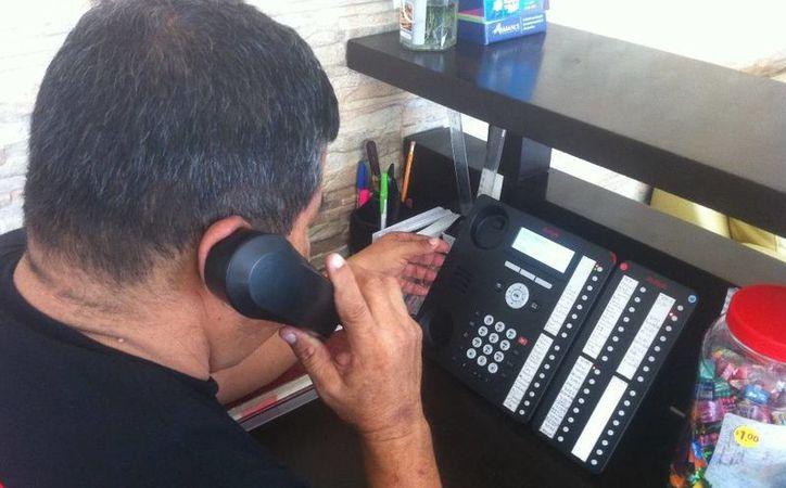 El número 911 ha recibido 242 llamadas de emergencias reales en 12 días. (Carlos Horta/SIPSE)