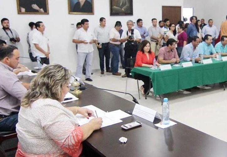 La mesa directiva para el primer período del segundo año de la LXI Legislatura de Yucatán, iniciará trabajo en septiembre. (Milenio Novedades)