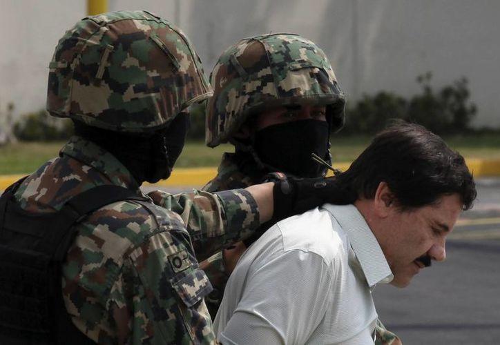El narcotraficante fue recapturado el 22 de febrero de 2014, tras permanecer 13 años prófugo luego de fugarse por primera vez en el año 2001. (AP)