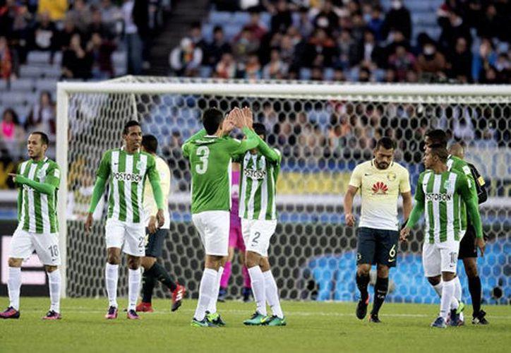 Atlético Nacional derrotó al Club América por el tercer puesto del Mundial de Clubes en Japón. (Mexsport)