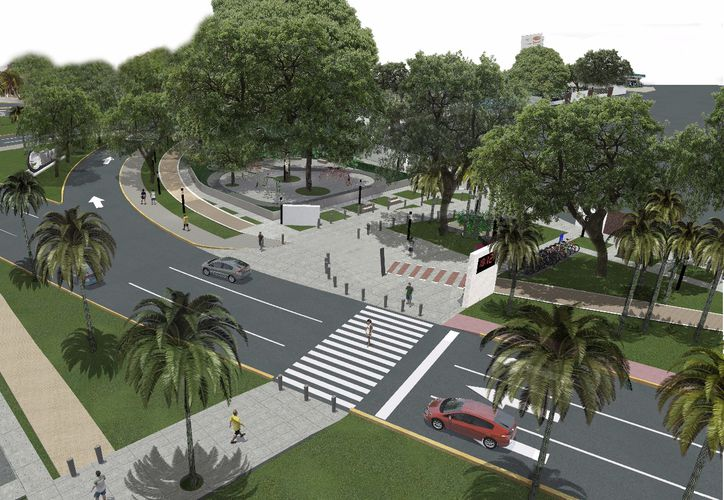 El parque abarcará un espacio de 14 mil 786.12 metros cuadrados. (Alejandro García/SIPSE)
