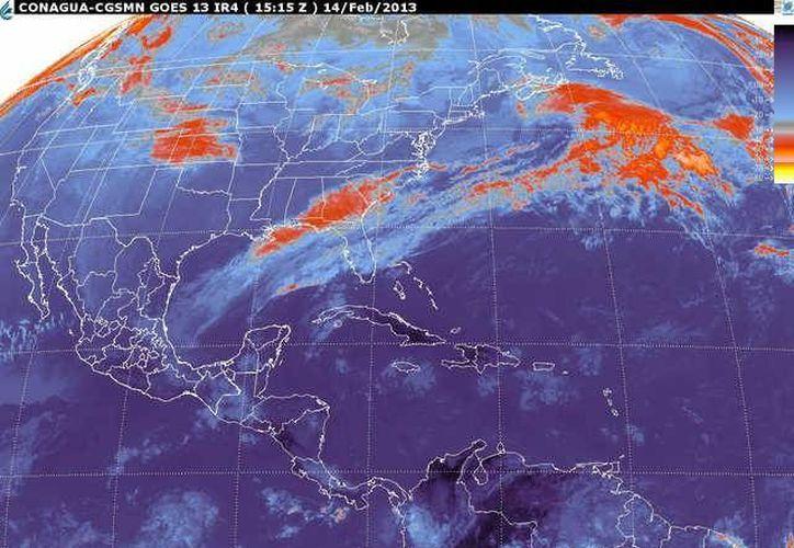 Soplarán vientos del norte y noreste de 20 a 30 km/h con rachas de 50 km/h. (smn.cna.gob.mx)