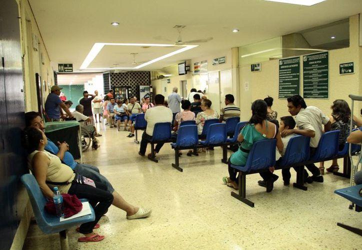 Los servicios de hospitalización y urgencias del IMSS no tendrán cambios los días 15 y 16 de septiembre, pero sí sus servicios administrativos. (SIPSE)