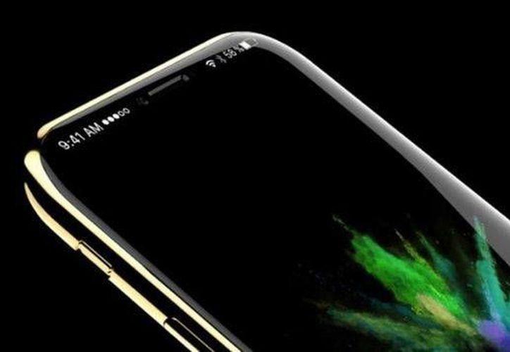 El nuevo iPhone 8 podría tener una estructura de vidrio y un display OLED en vez de LCD como los actuales. (Foto de contexto de infobae.com)