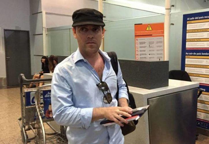 Damián Patcher anunció en Facebook su decisión de abandonar Argentina por su seguridad. (argnoticias.com)