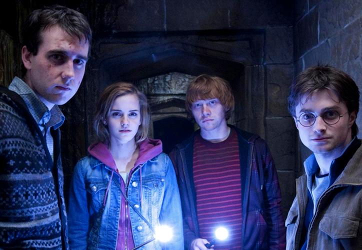 Tres de los personajes principales de la saga mágica se reunieron y emocionaron a los fans. (Foto: Contexto)