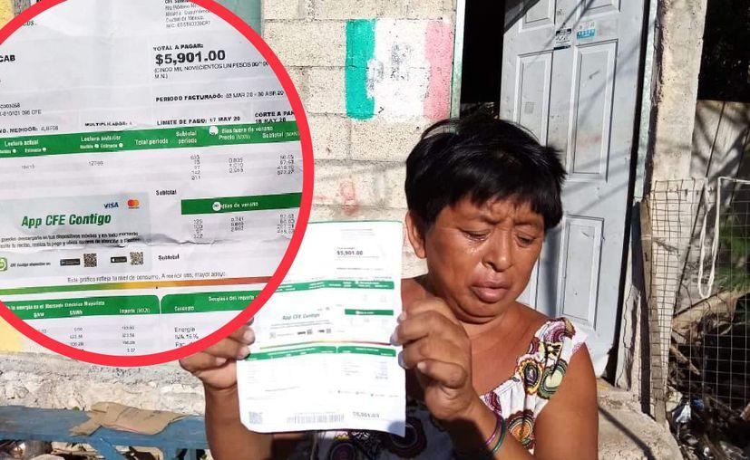 La vecina de Dzemul ha sufrido para pagar las facturas