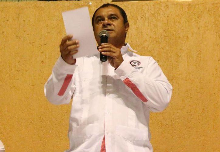 Héctor Alberto 'Billy' Fernández Zapata, secretario del FUTV, habló sobre la posibilidad de reducir las tarifas y de otros cambios. (José Acosta/SIPSE)