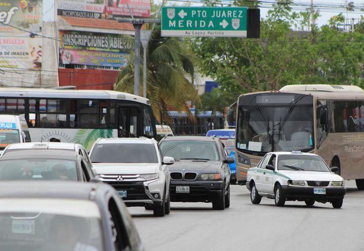 La planeación debe empezar en el libramiento Kabah, la avenida Xcaret; la avenida Bonampak y Tulum. (Archivo/ SIPSE)