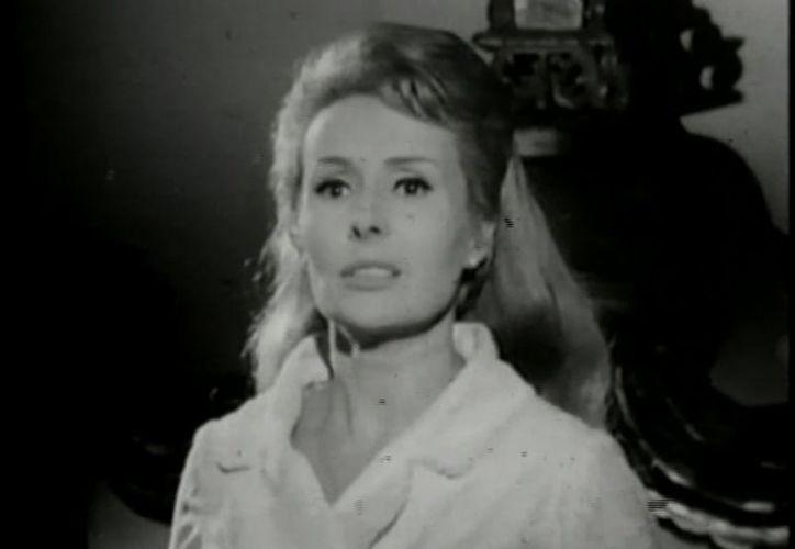 "La actriz participó en la emblemática telenovela ""El derecho de nacer"", en 1966. (Captura de pantalla)"