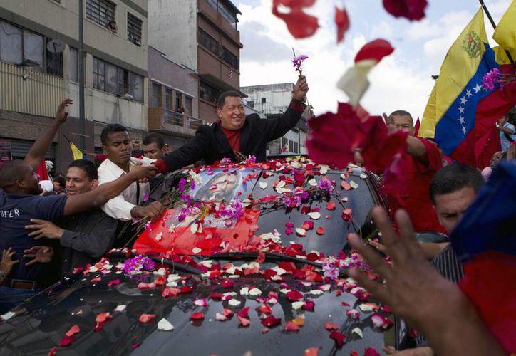 El 8 de diciembre de 2012, en un viaje relámpago a Caracas, Chávez anunció que su cáncer había regresado. (Agencias)