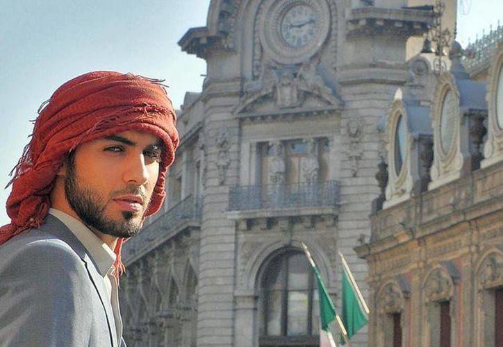 Omar Borkan estuvo en México el 18 y 19 de junio. (instagram.com)