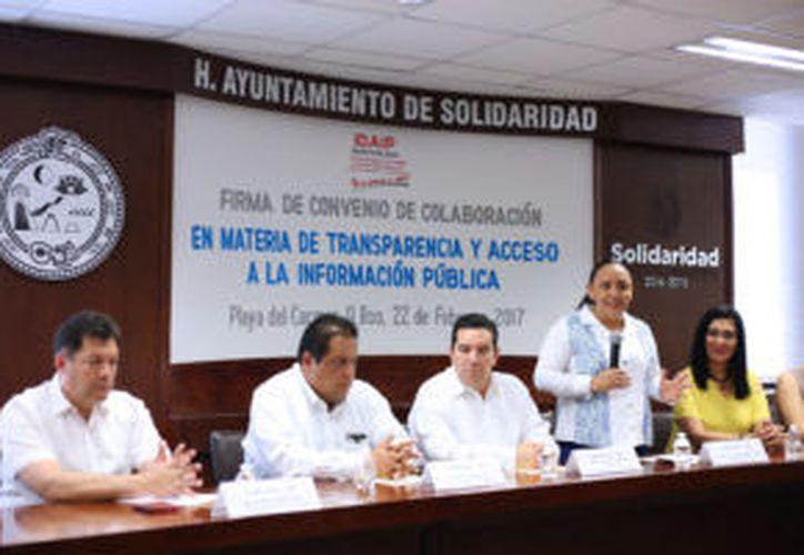 La alcaldesa reconoció la voluntad política de los integrantes del Cabildo al respaldar la creación de la Comisión de Gobernanza. (municipiodesolidaridad.com)