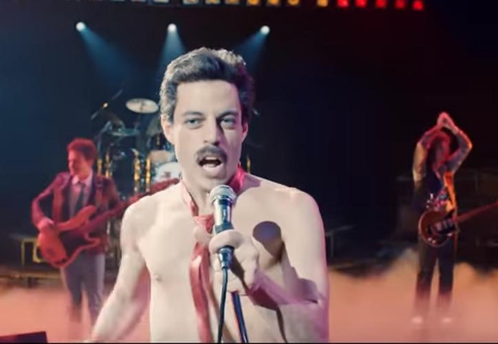 Freddie Mercury, será interpretado por Rami Malek. (Captura)