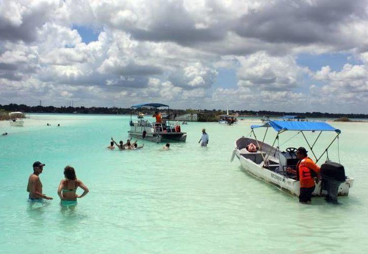 Estas acciones representan un incremento considerable de embarcaciones que saturan el lugar. (Javier Ortíz/SIPSE)