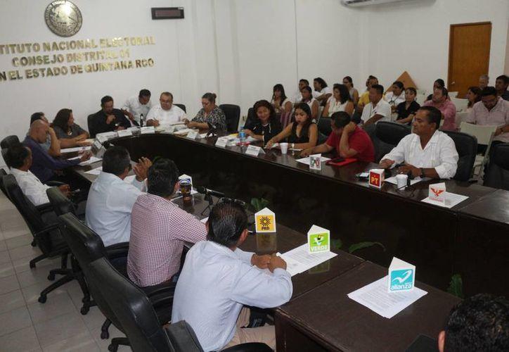 El Consejo Distrital Federal 01 tiene a su cargo la coordinación de los distritos locales del 1 al 11, excepto el número 3. (Adrián Barreto/SIPSE)