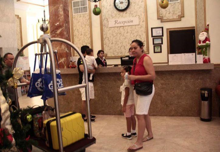 La ocupación hotelera de la capital yucateca registra un 100 por ciento desde la segunda quincena de diciembre. (Jorge Acosta/ Milenio Novedades)