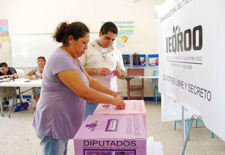 Se buscar llevar la jornada electoral al mayor número de ciudadanos posible. (Ivett Ycos/SIPSE)