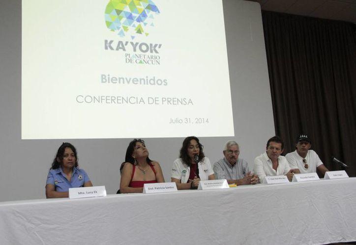 Beatriz Andrade Ramos dijo que habrá conferencias y talleres como el tema de ilusión óptica. (Tomás Álvarez/SIPSE)