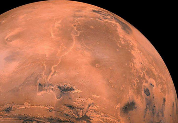 """El objeto que creó el cráter habría sido """"bastante raro"""". (Foto: NASA)"""
