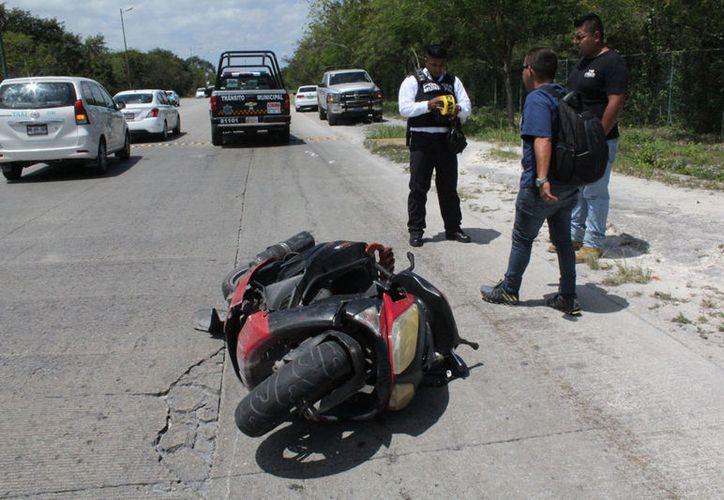 El joven originario de Chiapas, fue arrollado por una camioneta. (Redacción/De Peso)