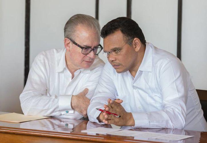 El gobernador Rolando Zapata Bello estará este jueves en Kanasín y también se reunirá con trabajadores del ISSTEY.