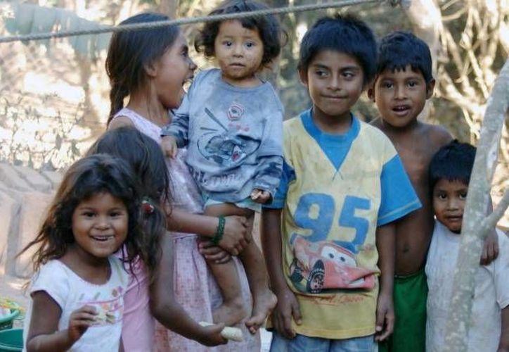 El reporte refleja que el 56 por ciento de los niños menores de cinco años vive en pobreza. (Archivo/Notimex)