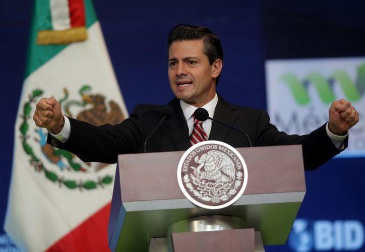 Peña Nieto durante la ceremonia de Inauguración del Foro México 2013. (Notimex/Foto de archivo)