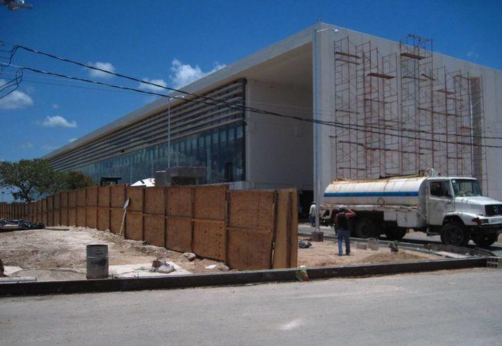 El edificio del Centro de Justicia Oral de Mérida, del Primer Departamento Judicial del Estado, sería inaugurado por el Presidente de la República. (Milenio Novedades)