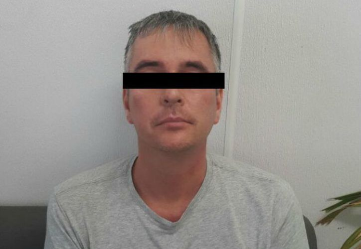 """Juergen """"N"""" fue deportado a su país de origen con estricto apego a sus derechos humanos. (INM)"""