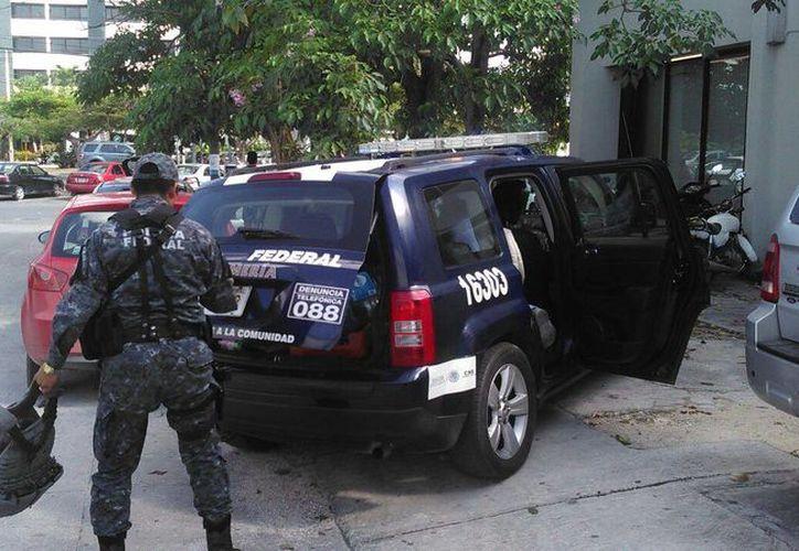 Las autoridades organizaron un operativo para encontrar al presunto responsable. (Sergio Orozco/SIPSE)