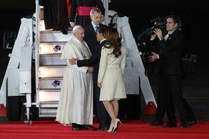 Llega a México el Papa Francisco