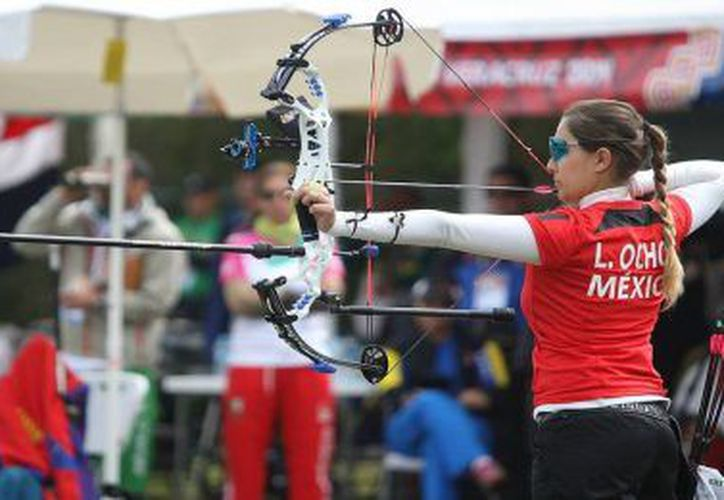 Linda Ochoa-Anderson se prepara para la competencia. (encontacto.mx)