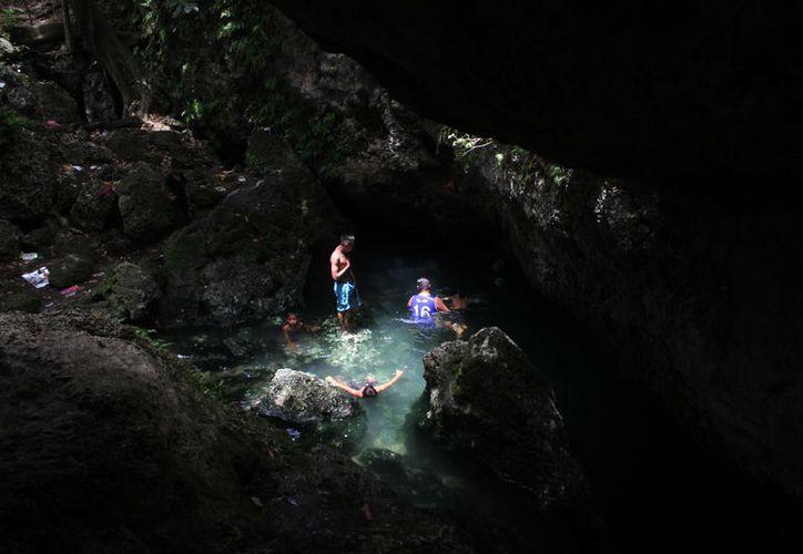 Aplicarán un programa de limpieza general en los cenotes urbanos. (Sergio Orozco/SIPSE)