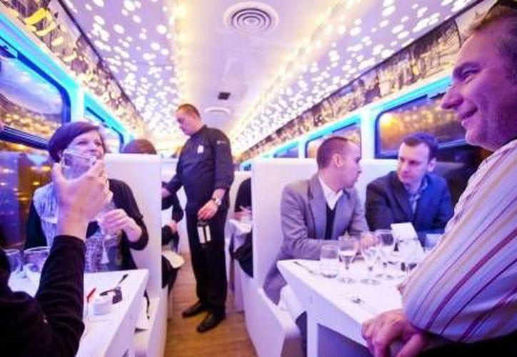 El proyecto turístico y gastronómico de Bruselas, que incluye platillos de Puebla en un tranvía, fue creado en 2012. (brusselnieuws.be/Foto de contexto)