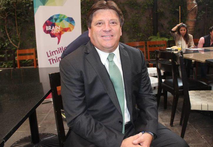 El spot de Miguel Herrera podría transmitirse el día del partido México contra Brasil. (Archivo/Notimex)