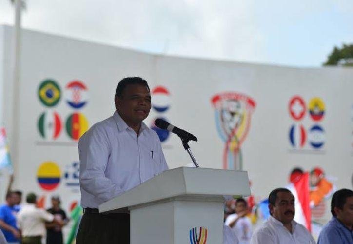 Rolando Zapata Bello iniciará las actividades de la Olimpiada de la Paz. (Archivo/ Milenio Novedades)