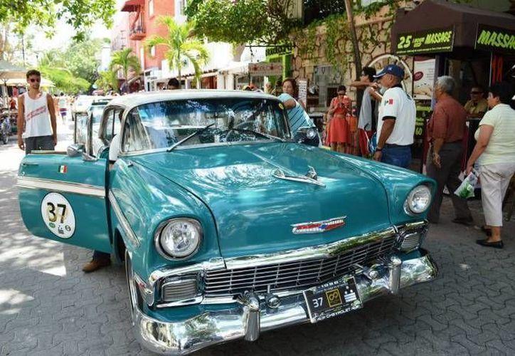 En el Rally Maya 2015, los autos participantes pasarán por Playa del Carmen, Quintana Roo. (Contexto/Internet)