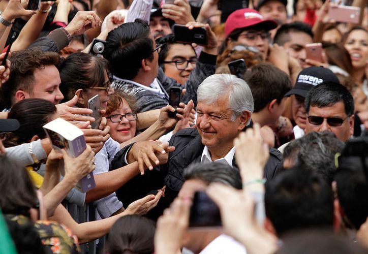 Andrés Manuel insistió en que su gobierno se caracterizará por el combate a la corrupción. (Notimex)