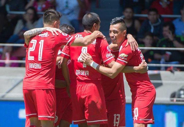 Toluca regresó este domingo al triunfo luego de vencer con marcador de 3-0 a Dorados de Sinaloa. (Twitter: @TolucaFC)