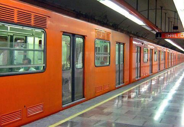 El Metro de la Ciudad de México separa a hombres de mujeres según vagones. (turespacio.com)
