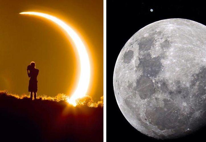 Tres fenómenos astronómicos se conjugan este martes. (Foto: Especial)