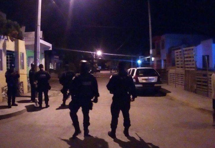 El ataque fue la noche del pasado domingo, en un domicilio de la Región 247. (Eric Galindo/SIPSE)