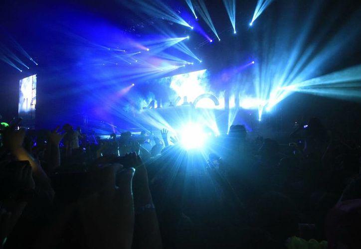 """La Riviera Maya se llenará de luces y música en el festival de música electrónica """"Paraiso"""". (Archivo Notimex)"""
