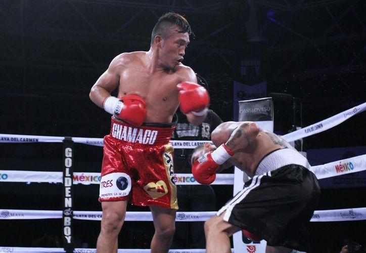 """Silverio Chamaco Ortiz Ley fue designado """"Mejor Boxeador Yucateco Fuera del Estado"""" durante 2014. (Facebook Silverio Ortiz Ley)"""