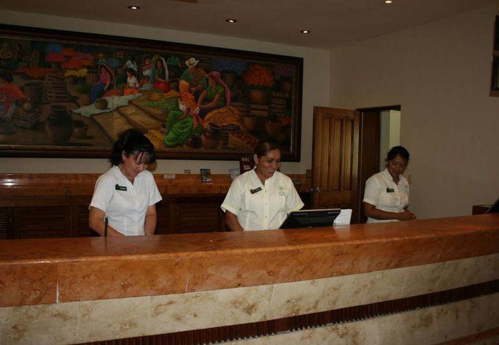 En los hoteles es poca la presencia de trabajadores extranjeros. (Adrián Barreto/SIPSE)