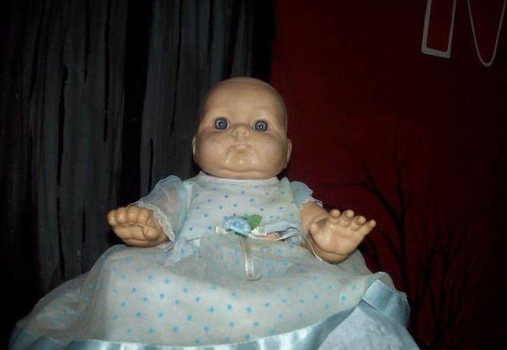 Caty, la muñeca embrujada de Dzitnup, es una de las más conocidas. (Jorge Moreno/SIPSE)